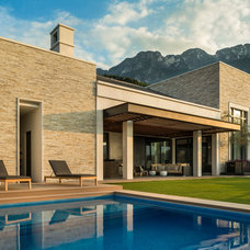 Contemporary Pool by Pozas Arquitectos