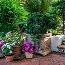 Mediterranean Patio by Casa Smith Designs, LLC