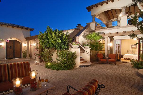 Mediterranean Patio by Integrity Luxury Homes