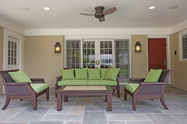 Contemporary Patio by Case Design/Remodeling, Inc.