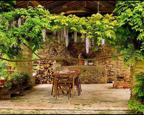 Foto e idee per patii e portici patio o portico in montagna for Idee di portico contadini