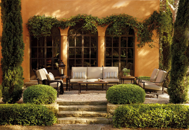 Mediterranean Patio by FRONTGATE