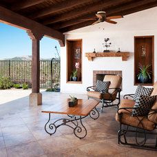 Mediterranean Patio by Pacific Western Painting, Inc.