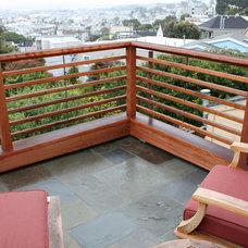 Modern Patio by Podesta Construction