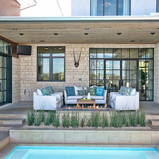 Contemporary Patio by Glynis Wood Interiors