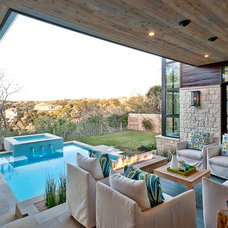 Contemporary Patio by Greenbelt Construction