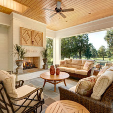 Traditional Patio by Carolina Design Associates, LLC