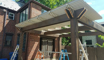Ceadar Post Louvered Patio Cover