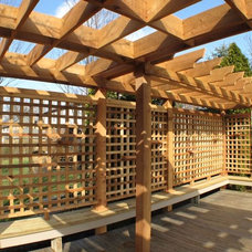 Eclectic Patio by Building Supply Guy