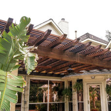 Traditional Patio by Callie Custom Homes