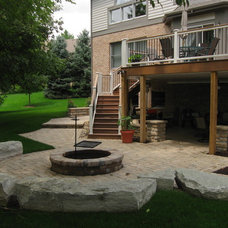 Craftsman Patio by The Site Group