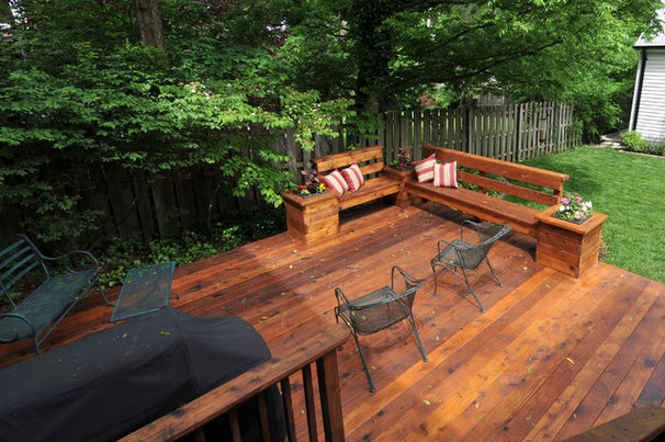 Traditional Patio by Riggs Construction & Design
