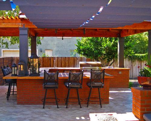 Outdoor Bar B Que Houzz