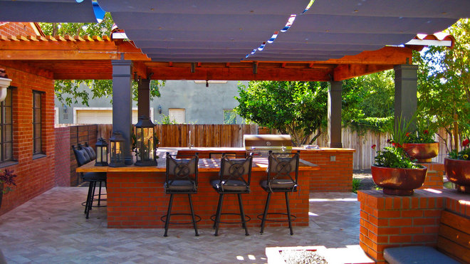 Traditional Patio Central Phoenix Residence
