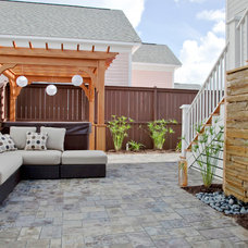 Contemporary Patio by Charleston Home + Design Mag