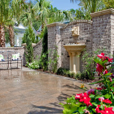 Traditional Patio by Charleston Home + Design Mag