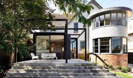 Houzz Tour: Sensitive Additions Make an Art Deco House Sing