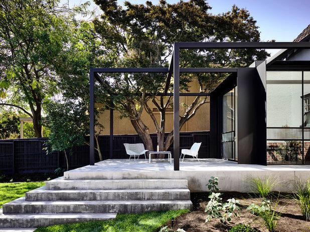 Contemporary Patio by Luke Fry Architecture & Interior Design