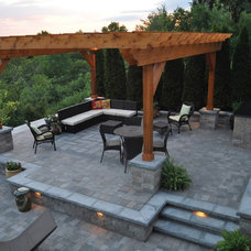 Contemporary Patio by K&D Landscape Management