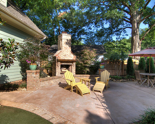 Stained Concrete Patio Houzz