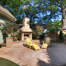Traditional Patio by Grandfather Homes