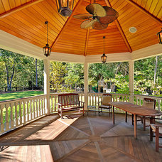 Traditional Patio by creative designs llc