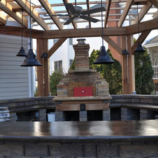 Traditional Patio by Fogazzo Wood Fired Ovens and Barbecues LLC