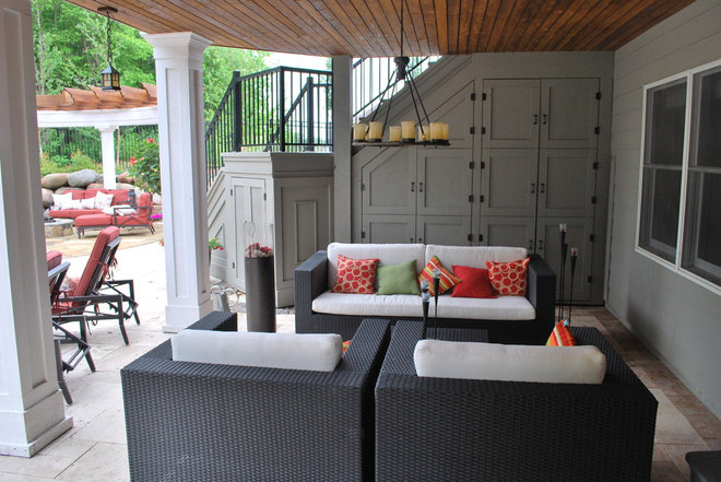 Contemporary Patio by BellaWood Builders