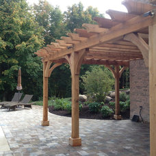 Craftsman Patio by Timberland Homes