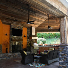Contemporary Patio by mccarthy design + build, llc