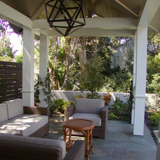 Traditional Patio by Monique Schenk Architect, Inc.