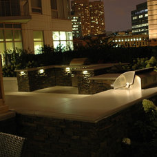 Contemporary Patio by Blanford Design