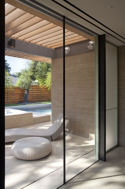 Modern Patio by Webber + Studio, Architects