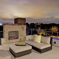 Modern Patio by Christian Rice Architects, Inc.