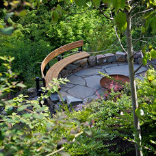 Contemporary Patio by The Philbin Group Landscape Architecture
