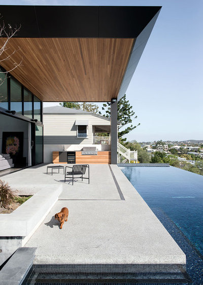 Contemporary Patio by DAHA