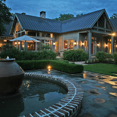 traditional patio by Christopher A Rose AIA, ASID