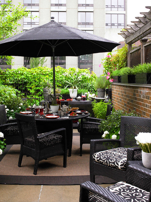 Marvelous Inspiration For A Contemporary Patio Remodel In Toronto