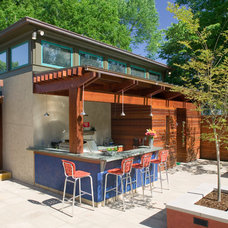 Contemporary Patio by Gilbert | McLaughlin | Casella Architects, PLC