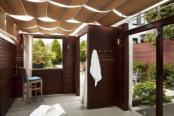 Modern Patio by Arterra LLP Landscape Architects