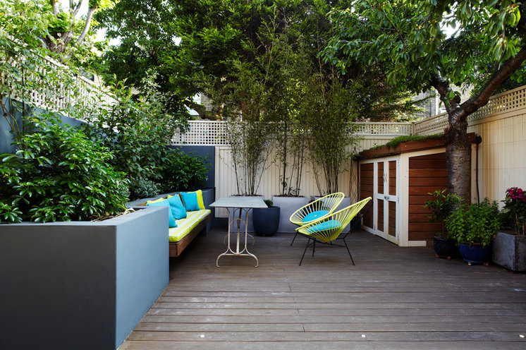 Contemporary Patio by Chantel Elshout Design Consultancy