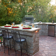 Traditional Patio by Olive Branch Integrated Outdoor Design