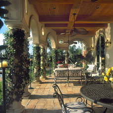 Mediterranean Patio by John McDonald Company