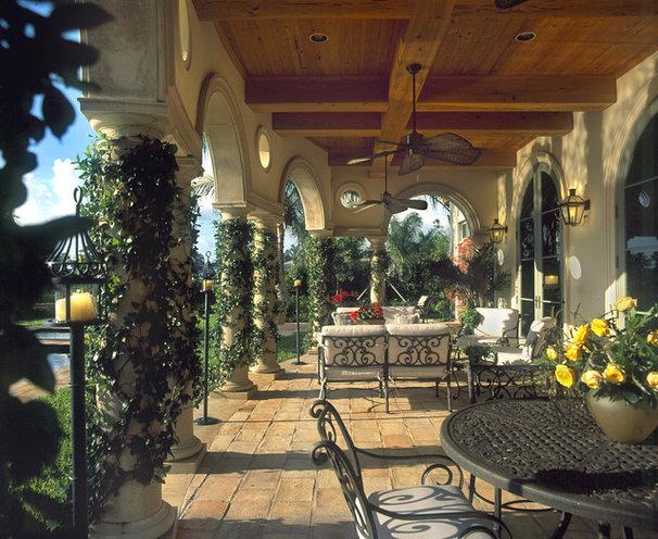 Mediterranean Patio by John McDonald Company