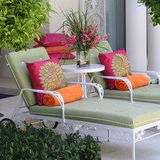 Tropical Patio by Marilee Bentz Designs, Inc.