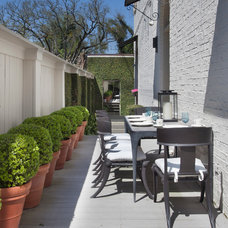 Traditional Patio by TY LARKINS INTERIORS