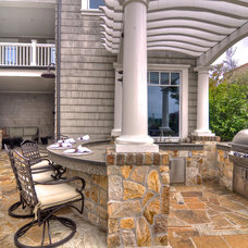Traditional Patio by James Glover Residential & Interior Design