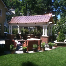 Traditional Patio by Greensource design/build - Bob Oster designs