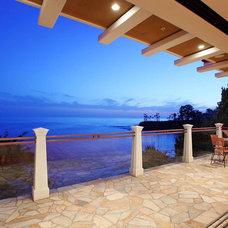 Traditional Patio by Michael H. Masilotti Architects