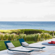 Beach Style Patio by Natasha Barrault Design